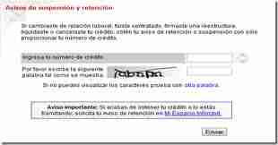 suspencion y retencion