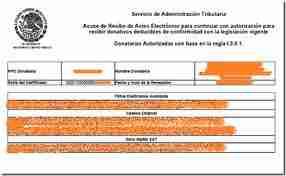 autorizacion anual donatarias
