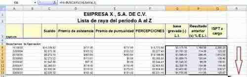 calcular ISR excel 10