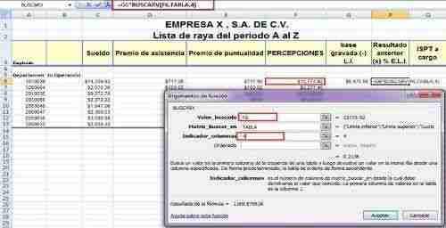 calcular ISR excel 8