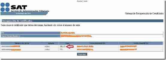 Descargar CDS RFC SAT