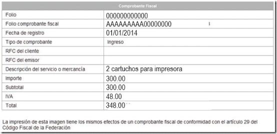 factura electronica Mis Cuentas