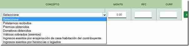 informacion complementaria declaraSAT 2016