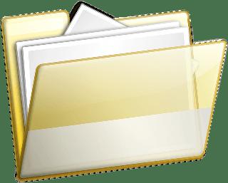 expediente folder