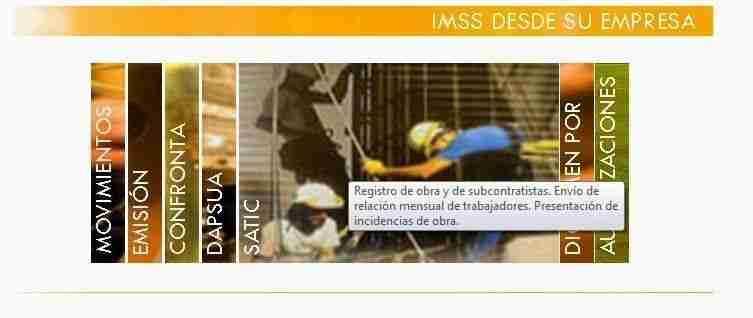 satic construccion imss