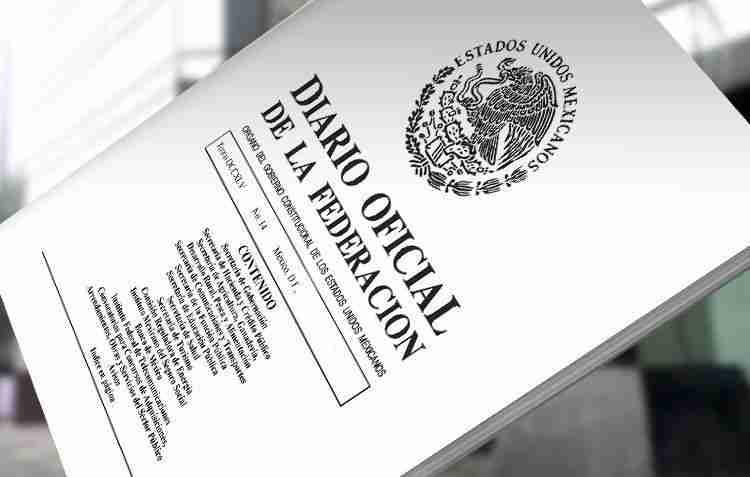 diario oficial de la federacion dof