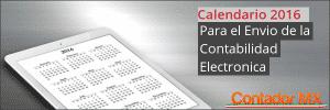 Lee más sobre el artículo Descarga el Calendario de envió Contabilidad Electrónica 2016