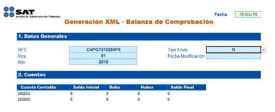 BALANZA DE COMPROBACION CONVERTIDOR SAT