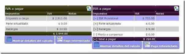 det impuestos calcimp