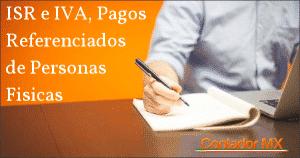Como Determinar el IVA e ISR Mensual en Linea como Persona Física?