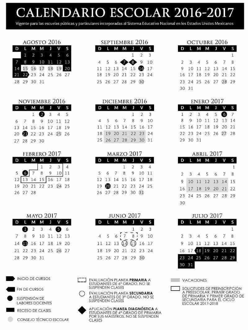 Días FESTIVOS 2016-2017