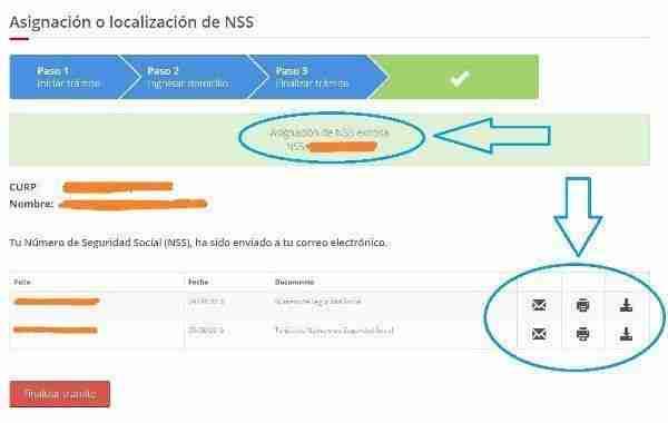 asignacion exitosa NSS IMSS