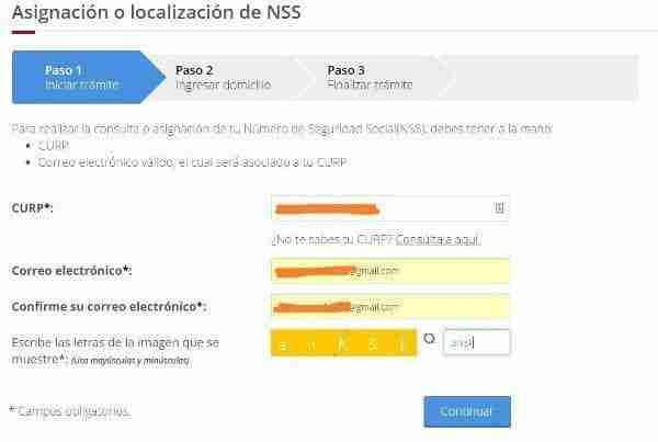 conocer el NSS IMSS