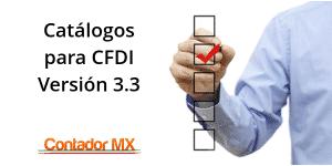 Lee más sobre el artículo Catálogo Producto o Servicios del CFDI 3.3, más campos a llenar en las facturas electrónicas