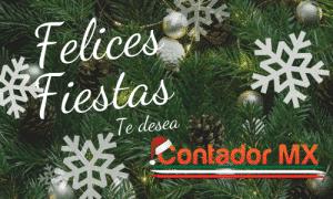 Lee más sobre el artículo Felices Fiestas y lo mejor para el próximo año les desea el Equipo de ContadorMx