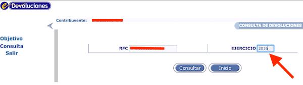 consulta estatus devolución automática ISR