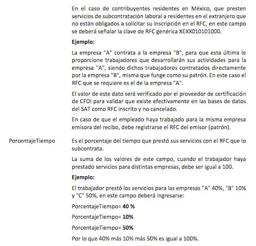 cfdi nomina outsourcing 3.3 2