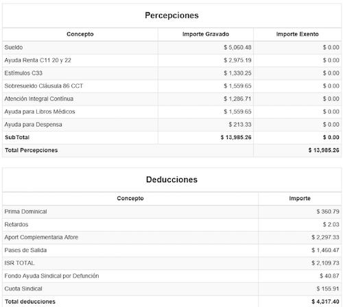 xml 2 de sueldos y salarios ajuste de nomina