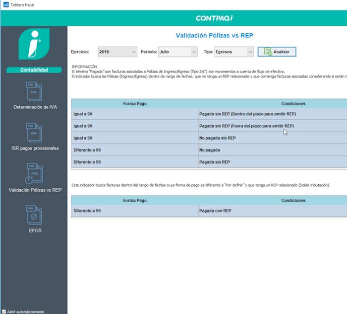Control del CFDI para pagos Contpaqi