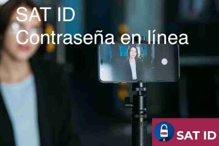 SAT ID tramite de contraseña con video