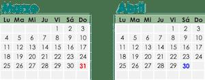 calendario fiscal SAT contribuyente